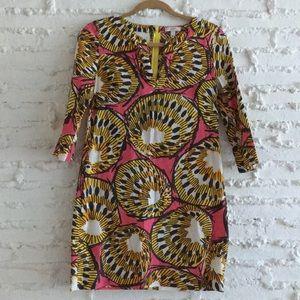 {j crew} Shell Print Beach Dress/Tunic